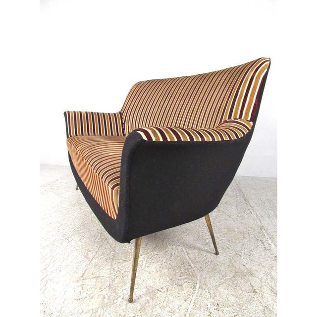 Exquisite Italian Modern Loveseat after Marco Zanuso - Image 2 of 11