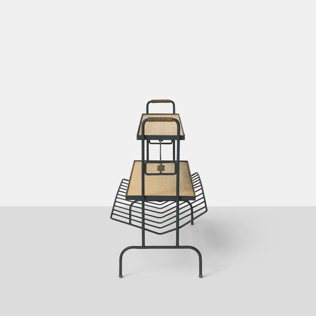 Mid-Century Modern Bookstand by Jacques Adnet For Sale - Image 3 of 9
