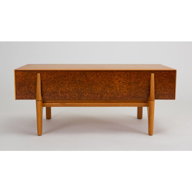 Brown Saltman Single Bench With Storage by John Keal for Brown Saltman For Sale - Image 4 of 13