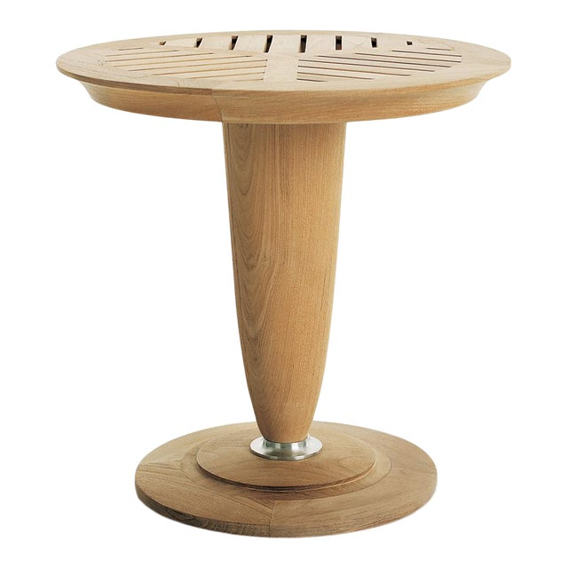 """Summit Furniture Loggia 18"""" Round Occasional Table For Sale"""