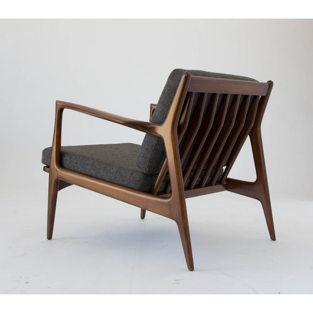 Brown Ib Kofod-Larsen for Selig Lounge Chair For Sale - Image 8 of 11