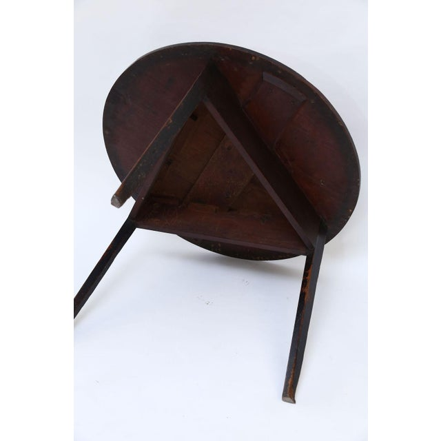 Large Pine Cricket Table For Sale - Image 9 of 13