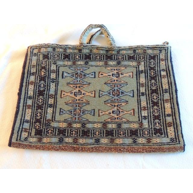 Vintage Kilim Saddle Bag - Image 4 of 5