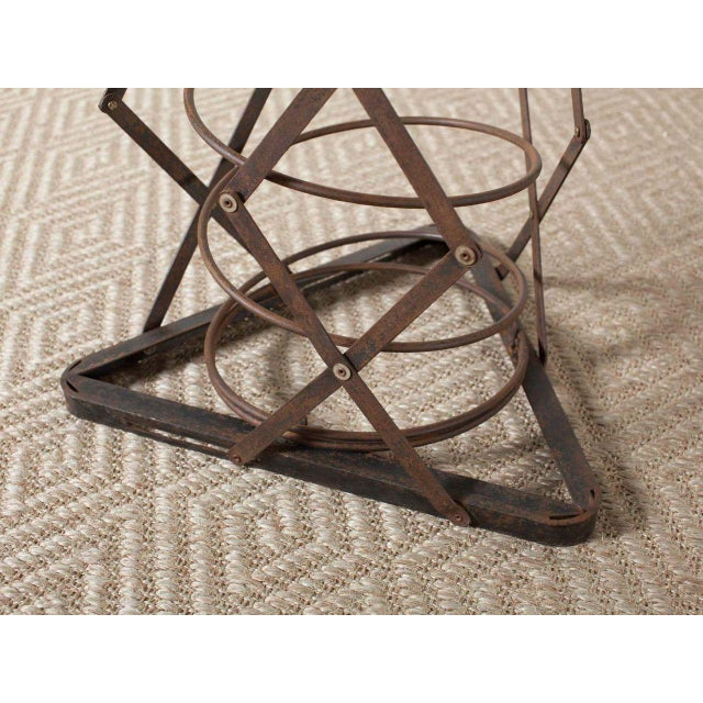 Contemporary Spring Table For Sale - Image 3 of 6