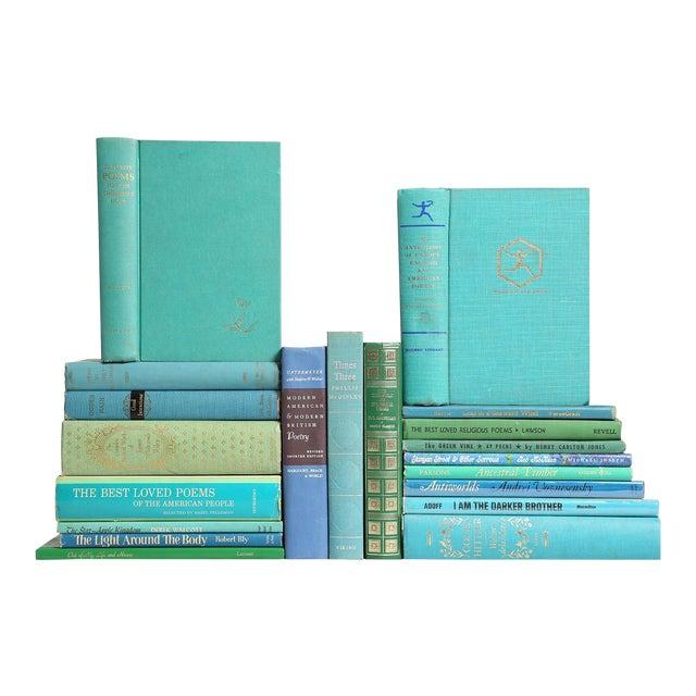 "Mid Century ""Ocean"" Poetry Books - Set of 20 - Image 1 of 3"