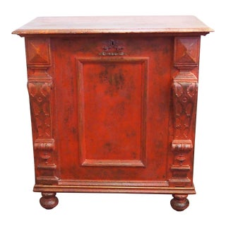 Louis XIII Style Single Door Cabinet For Sale