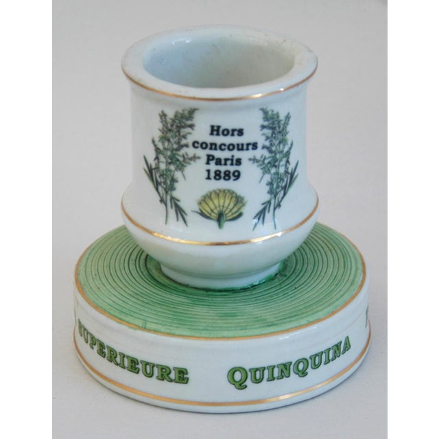 Mid 20th Century Early 1900s French Porcelain Match Striker & Holder For Sale - Image 5 of 11