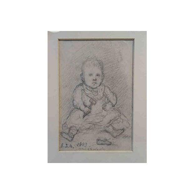 Children's John Cranch Children Drawings For Sale - Image 3 of 6