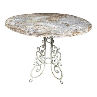 1880 Antique French Jardin Table