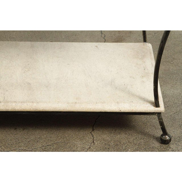 Brown Asian Architectural Relief Made Into a Coffee Table For Sale - Image 8 of 9