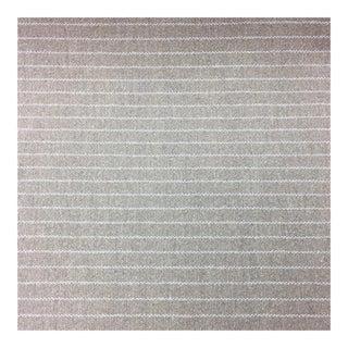 Khaki Pinstripe Upholstery Fabric - 10 Yards For Sale