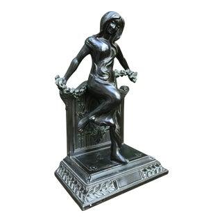 Early 19th Century Art Nouveau Bronze Sculpture For Sale