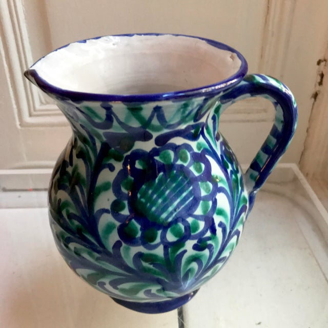 Vintage Spanish Grenadina Style Sangria Pitcher - Image 4 of 7