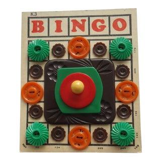 Mid-Century Bingo Card Art