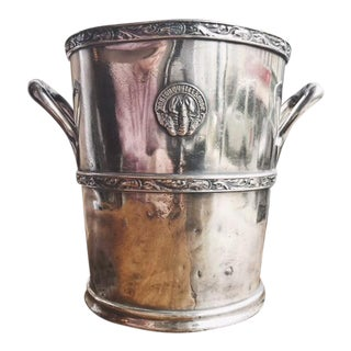 Antique Silver Boston Oyster House Champagne Bucket