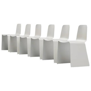 Set of 6 Scott Burton Style Dining Chairs