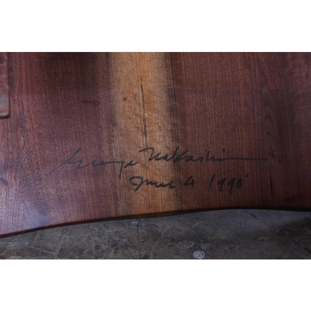 Pair of Conoid Lounge Chairs by George Nakashima For Sale - Image 10 of 10
