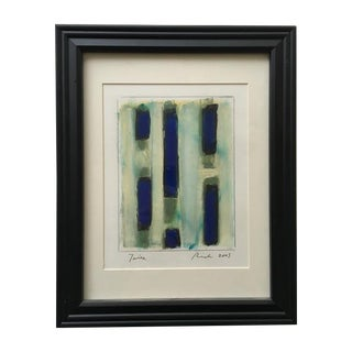 Abstract Pastel Work by Paul Rinaldi For Sale