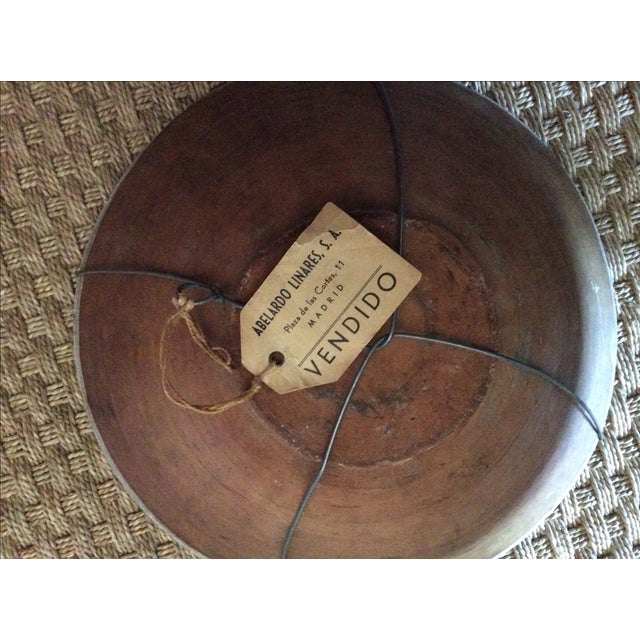 Antique Spanish Hand-Painted Bowl For Sale - Image 4 of 5