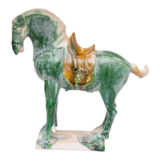 20th Century Tang Dynasty Style Horse Figurine For Sale