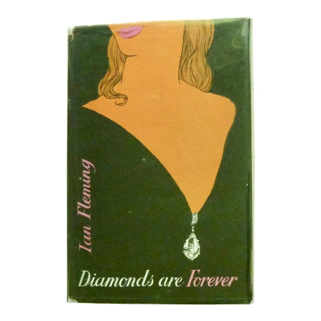 """1956 """"Diamonds Are Forever"""" UK 1st Printing Book For Sale"""
