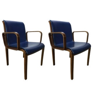 Bill Stephens for Knoll Dining Chairs - a Pair