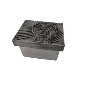 Mid Century Modern Brutalist Steel + Aluminum Sculpture Box Preview