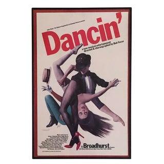 1978 Dancin' Musical Poster For Sale