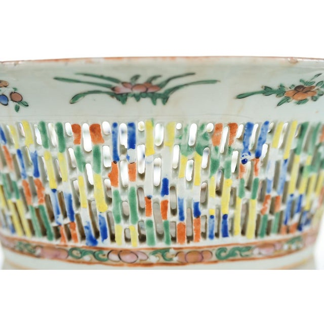 18th Century Antique Chinese Chin Fruit Basket For Sale - Image 7 of 9