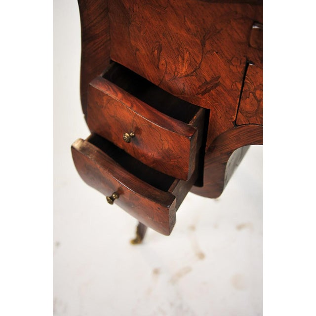 18th Century Louis XVI Marquetry Inlaid Vanity Stand For Sale - Image 9 of 11