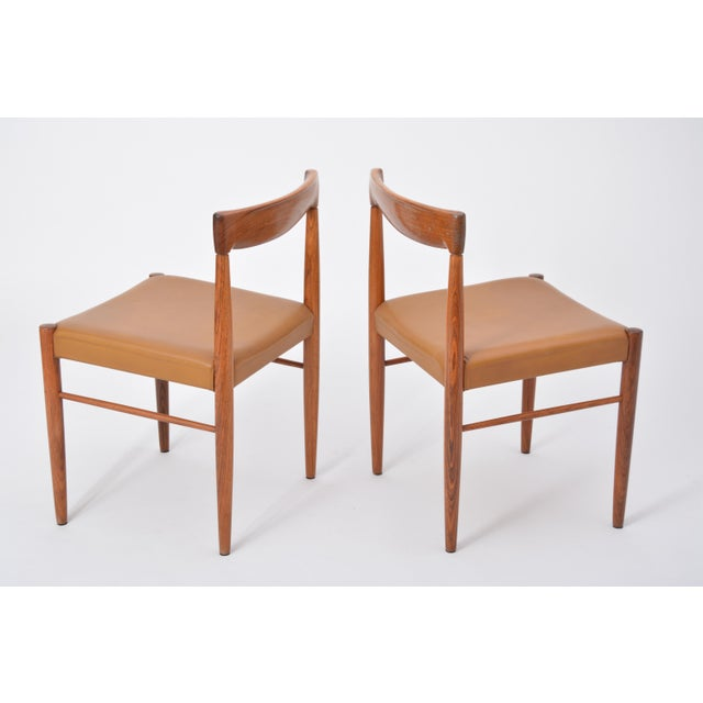 Bramin Møbler Rosewood Dining Chairs by h.w. Klein for Bramin, Set of Four For Sale - Image 4 of 12