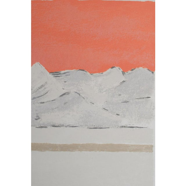 "1980s Bernard Cathelin ""Haiku"" Lithograph Print For Sale - Image 4 of 9"