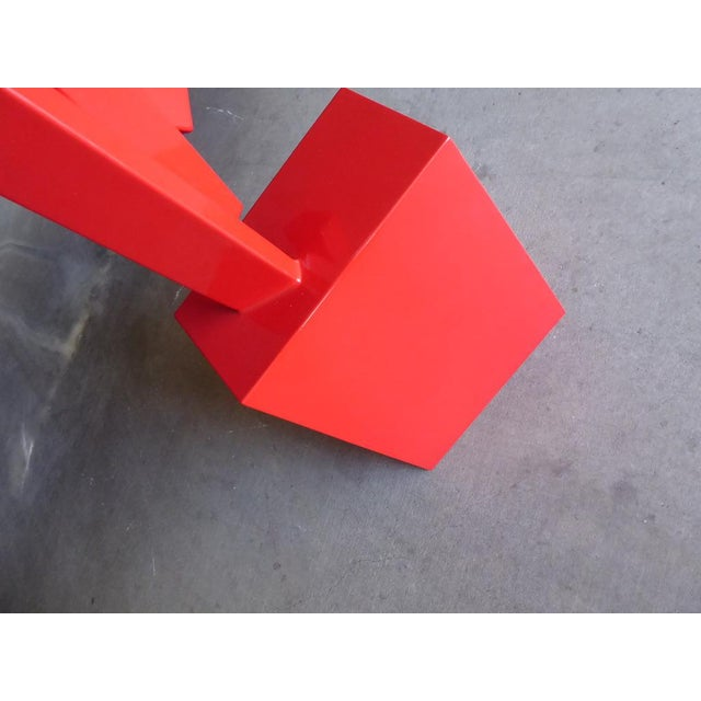 """""""Tropic of Capricorn"""" a Contemporary Abstract Sculpture by American Artist Joey Vaiasuso For Sale - Image 9 of 13"""