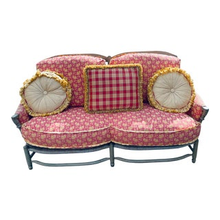 French 20th Century Provincial Settee For Sale