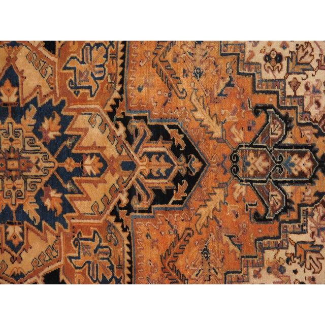 "Vintage Persian Heriz Rug - 8'4"" X 11'8"" - Image 3 of 5"