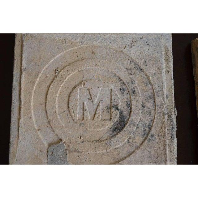 Antique Belgian Ceramic Tiles - Set of 4 - Image 10 of 11