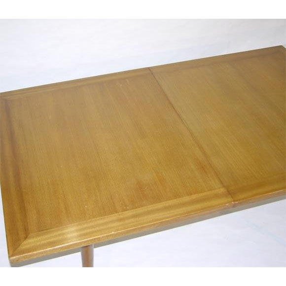 Harvey Probber Harvey Probber Sabre Leg Dining Table For Sale - Image 4 of 7