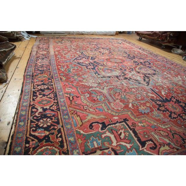 "Distressed Ahar Heriz Carpet - 8'2"" X 11'9"" - Image 6 of 10"