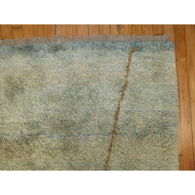 Turkish Tulu Shag Rug -- 4'6'' x 7'4'' - Image 6 of 6