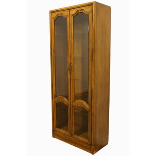 """20th Century Traditional 34"""" Illuminated Display Curio Cabinet Preview"""