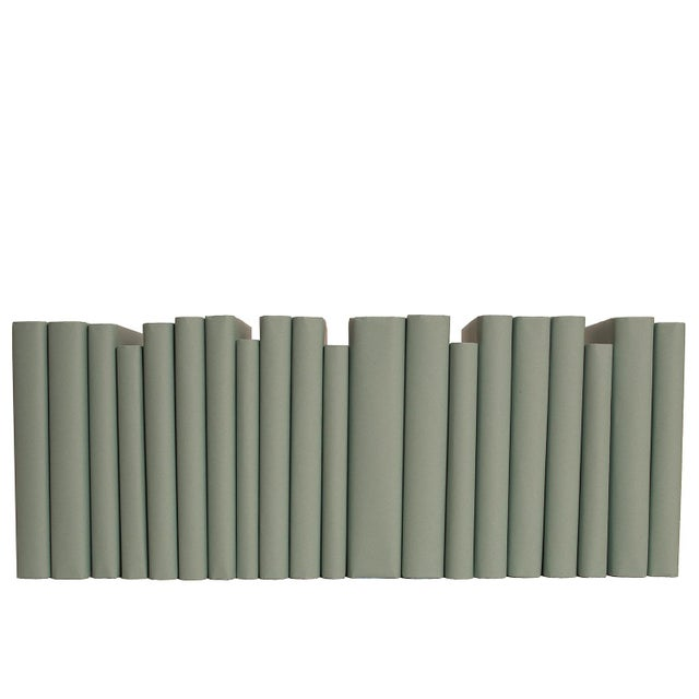 Take your design to a new level with the Seafoam Paper Wrapped Books By The Foot from Booth & Williams. Authentic modern...