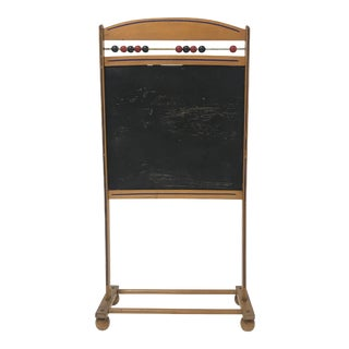 1960s Children's Atomic Rolling Blackboard For Sale