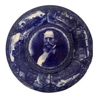 Dickens Flow Blue Plate