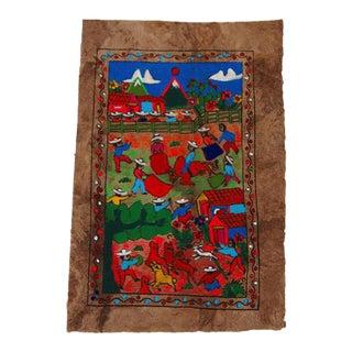 Village Folk Art Print