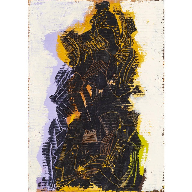 """Yellow Ted Stanuga, """"Garfield Suite Xiv"""" For Sale - Image 8 of 8"""