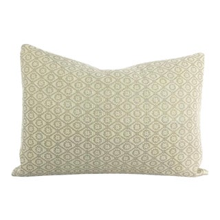 Colefax and Fowler Wickford Old Blue Lumbar Pillow Cover For Sale