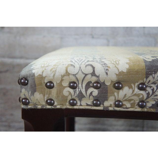 Hickory Chair Mark Hampton Thomas O'Brein Trestle Bench For Sale - Image 6 of 13