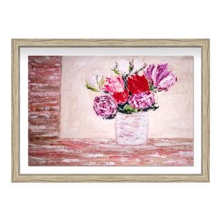Oliver Gal 'Claire Sower- Fleurs Du Lumiere Iii' Framed Art For Sale