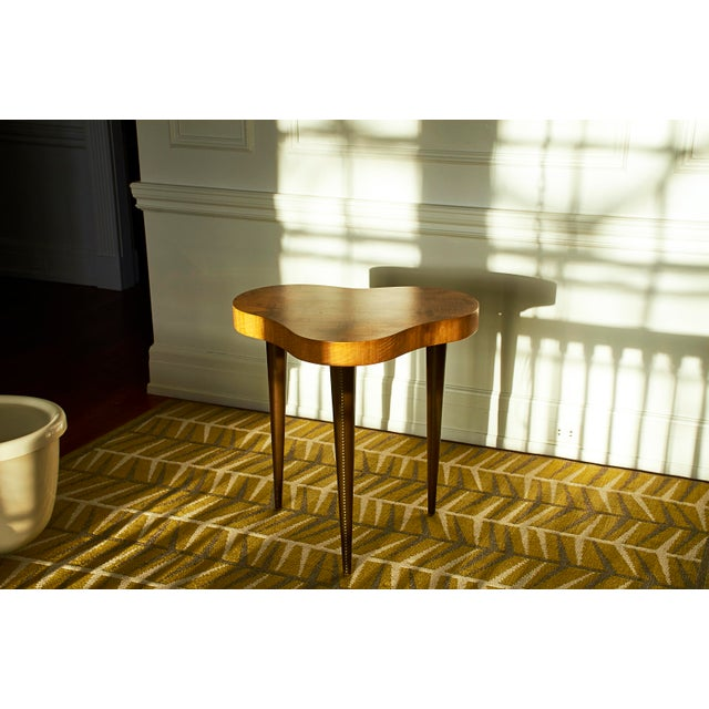 Brass Gilbert Rohde Occasional Table, for Herman Miller, 1940's For Sale - Image 7 of 9