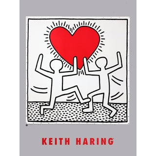 Keith Haring, Untitled (October 7, 1982), Edition: 500, Offset Lithograph, 2007 For Sale